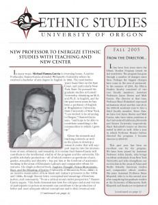 2005 Newsletter