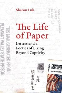 cover of Professor Sharon Luk's book The Life of Paper