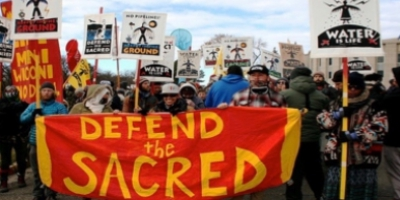 Dakota Access Pipeline protesters at Standing Rock